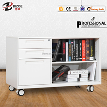 Moveble table mini filing drawer office small cabinet