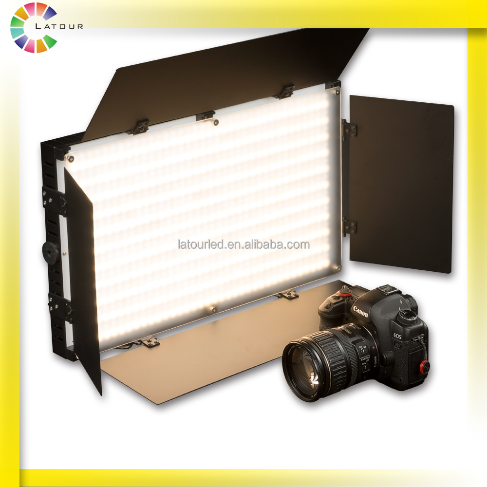 Photographic studio led video lighting with DMX photography shooting equipment video shooting led light panel