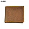 Retro real cow leather wallet for man