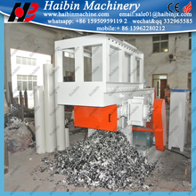 single/double shaft plastic pipe shredder machine