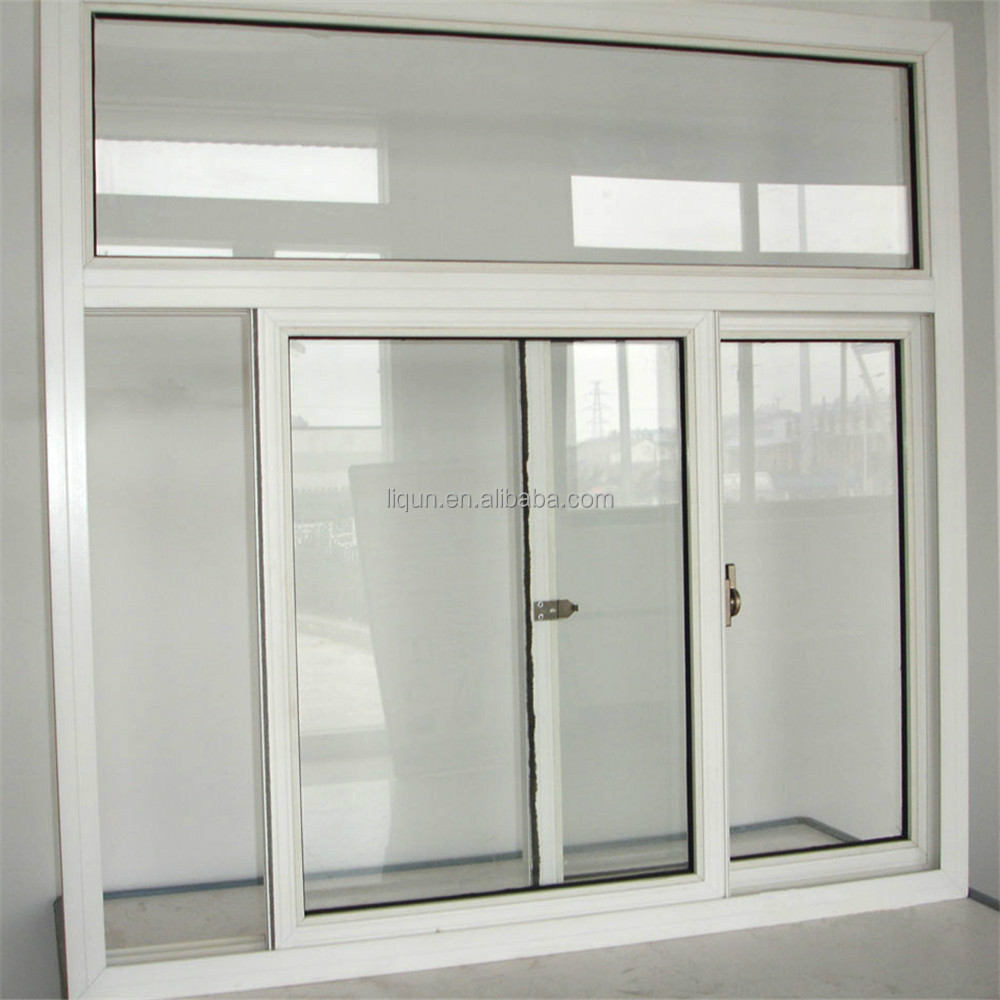 2015 new style aluminum glass sliding windows window grill for Sliding glass windows