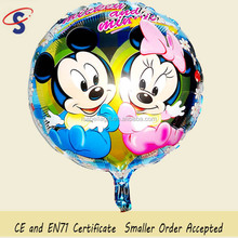 Manufacturer supply Mickey and Minnie cheap cartoon foil balloon