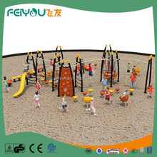 2017 Children Good quality gym train , plastic kids playground, giant metal slide for sale
