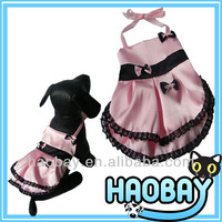 Cute Priness Style Silk Dress Wholesale Dog Clothes And Accessories