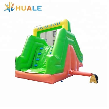 Huale 6x3x3m inflatable water slides for pool, inflatable water slides for kids, slide inflatable with pool