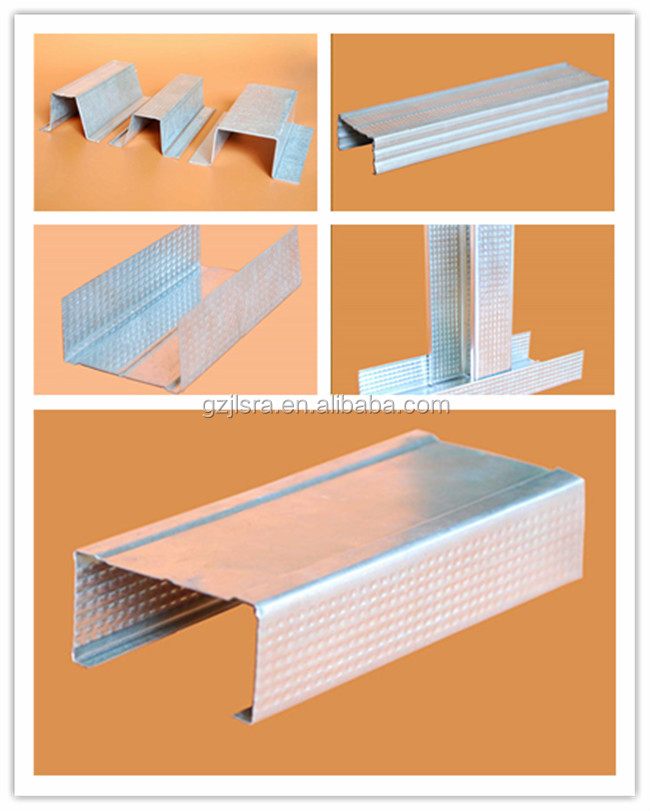 Popular ceiling/drywall matel stud track and GI steel coils to Middle east , thailand, malaysia , Australia .