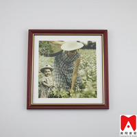 China factory Wood Material and Photo Frame Type 8x10 photo frame , handmade art painting high quality beautiful girl sex photo