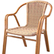 rattan chair used india synthetic rattan furniture GR-121007F