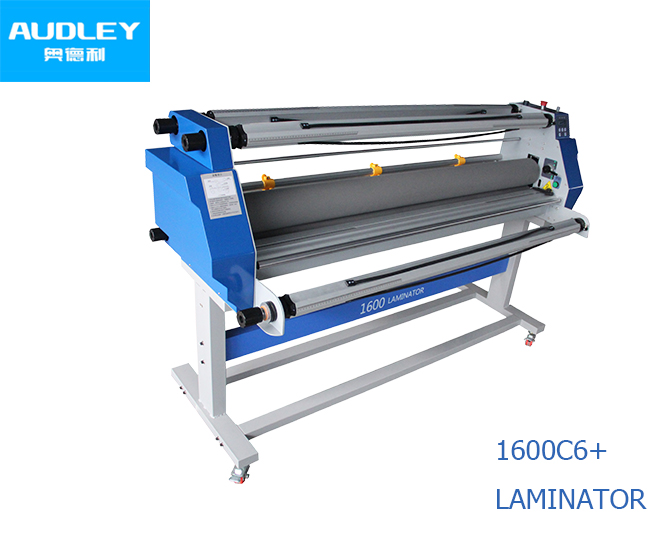 Cold & Hot Laminator Type 1600mm Paper size hot press laminator machine ADL-1600H6