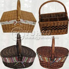 Cheap Empty Picnic Basket for Sales