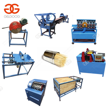 Factory Price Automatic Stick Production Line Bamboo Toothpick Making Machine for Sale