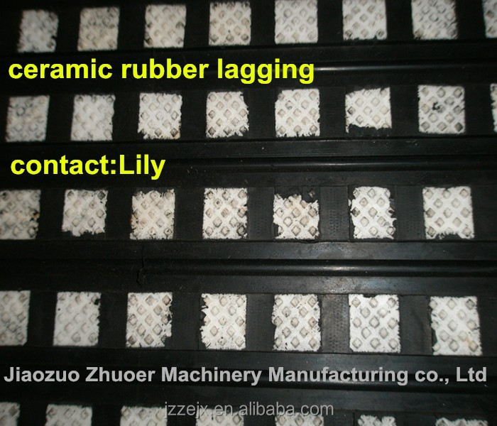 conveyor ceramic pulley lagging sheet
