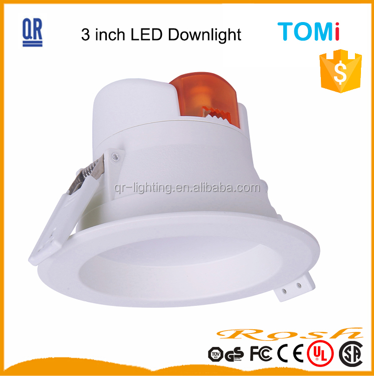 5W high quality Aluminum plastic housing recessed led <strong>downlight</strong> surface <strong>downlight</strong> led down light