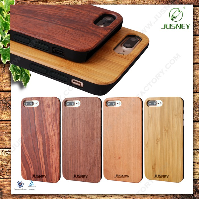 2017 Excellent Quality Luxury Design Mobile Phone Cases And Covers for iPhone 7 Case Wood Bamboo Case