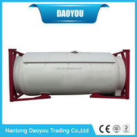 Alibaba China 20ft/40ft Bitumen Tank Container 20ft 40ft ISO Tank Container