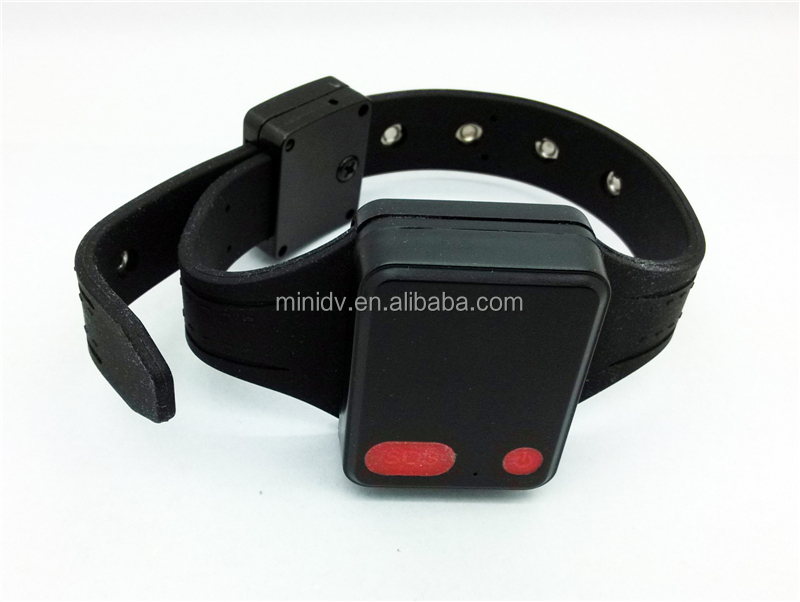 Accurate Positioning Mini Ankle Bracelet GPS Tracker for Prisoner with Both Non-power-off and Bracelet Cut-off/Disconnect Alert