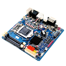 Intel H61 mini-ITX industrial motherboard mainboard 1155 Support 2*dual channel DDR3