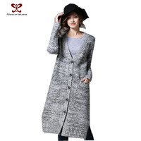 2016 Wholesale Women Cardigan Plus Size High Quality Knitting Long Sleeve Cardigan Knitting Women Cardigan