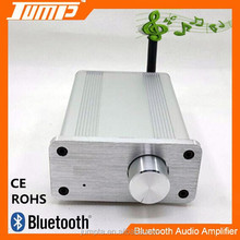 Factory supply Aluminum housing high quality Hifi 2x20W Mini bluetooth audio sound amplifier