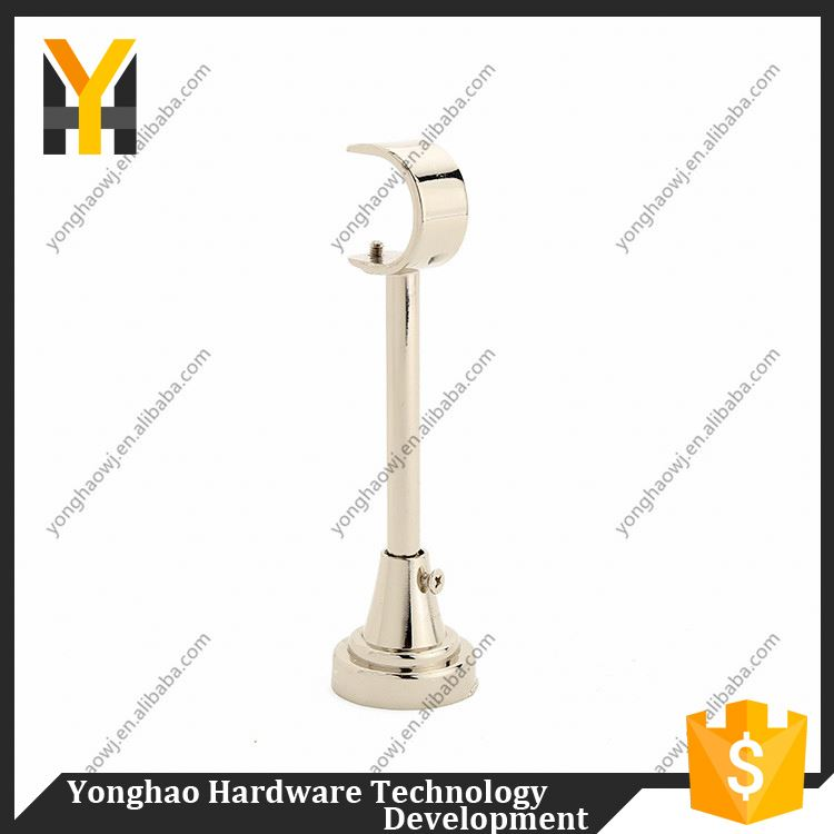 Top selling attractive style iron curtain rod wall brackets directly sale