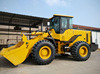 XCMG LW400KN wheel loader with 2.1m3 bucket 12ton weight and AC