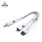 hot sale dye sublimated printing lanyard with trigger clip
