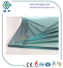 flat 6mm 8mm 10mm 12mm heat soaked toughened glass