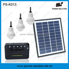 Money & energy saving solar electricity home system for rural areas