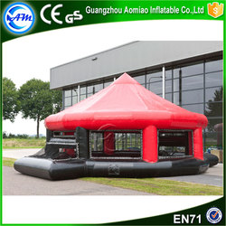 Customized inflatable panna cage,inflatable panna soccer with roof