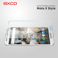EXCO Hot sale!! 0.33mm 9H Hardness 2.5D tempered glass screen protector factory for motorola moto x play xt1563 xt1562