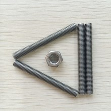 Good quality double end stainless steel thread rod din975