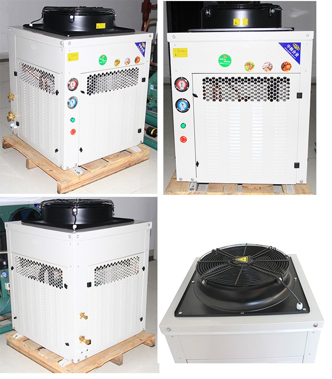 Box Type Refrigeration Air Cooled Condensing Unit for Heat Pumps
