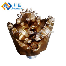 Professional api steel tooth tricone dill bit for oilfield drill