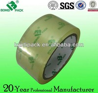 crystal clear bopp self adhesive tape Guandong supplier