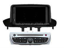 LSQ star Central Multimidia Renault Megane III/ Fluence Car DVD Player with GPS Navigation Radio
