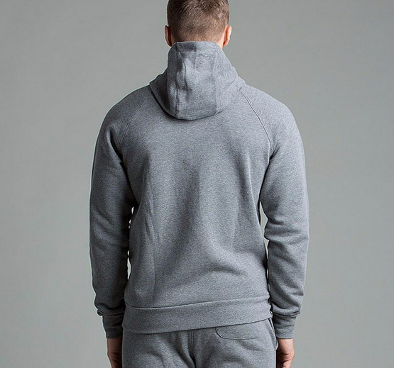 Wholesale custom slim fit mens plain cotton tracksuit