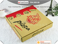 6/7/8/9/10/11/12/13/14/15/16/17/18/19 inch Kraft Paper,Corrugated,Printed Pizza Box wholesale