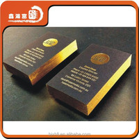 Good Quality Gold Foil Embossed Business