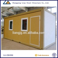 20ft Modular container homes from china supplier