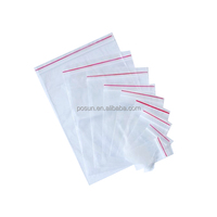 100% Virgin LDPE zip lock bags, packaging plastic bags, customized ziplock bag