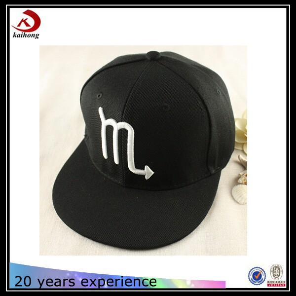 creative promotional sporting goods china unstructured cheap embroidery snapback caps