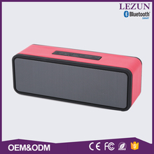 Bluetooth version 3.0 wireless super bass portable microphone speaker with fm