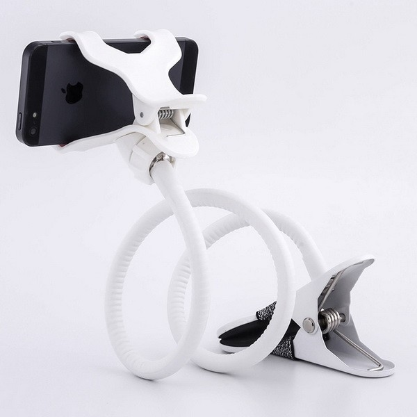 New Style Flexible Bed Desk Lazy Mobile Phone Holder for Tablet Stand Long Arms Cell Phone Shoulder Car Holder with Metal Clip