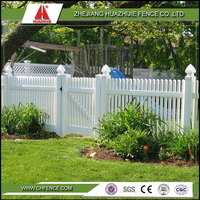 clear vinyl recycled fence