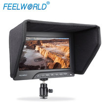 "FEELWORLD 7"" Camera Top LCD Field Monitor for DSLR, Camrecorder (FW689)"