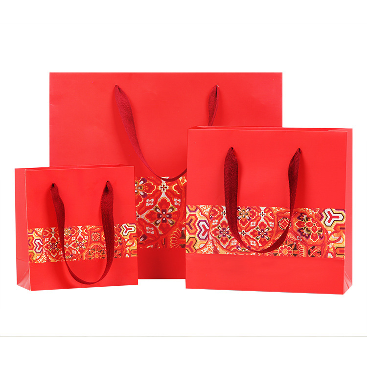 Hot selling industrial popular gift water resistant paper bag