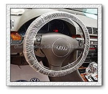 exported Korea ivory plastic car steering wheel