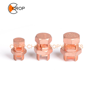 T/J copper split bolt connector,cable connector for power using