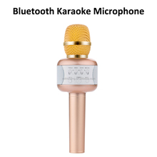 5 watt 2200mah capacity bluetooth handhold karaoke microphone wireless karaoke player