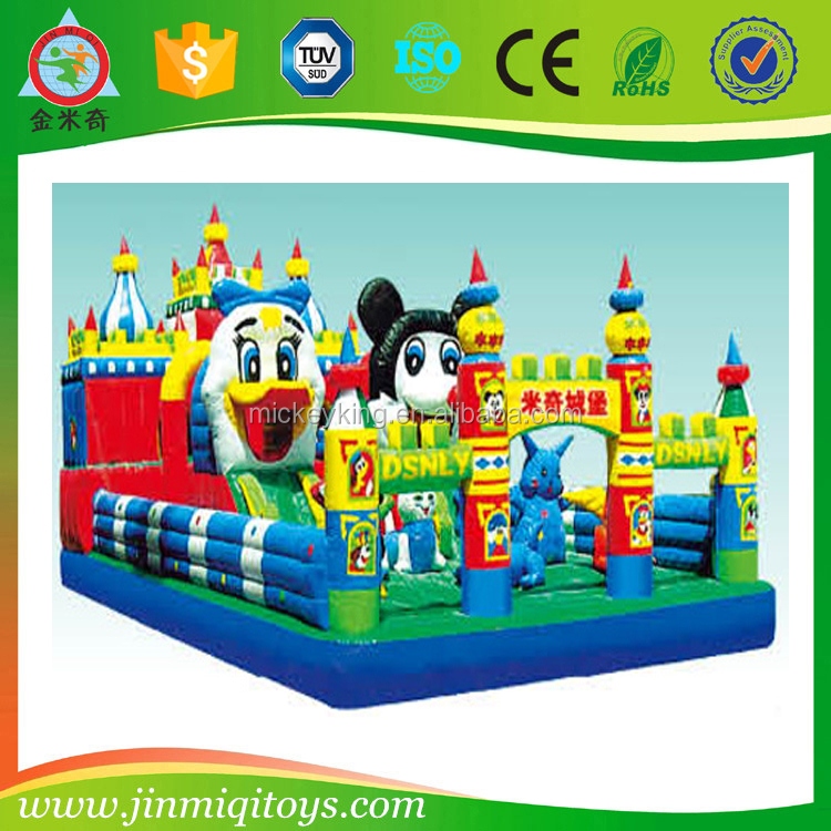 Fun and cheap kids bouncy castle, used jumping castles for sale, bouncy castles inflatables china JMQ-P130B